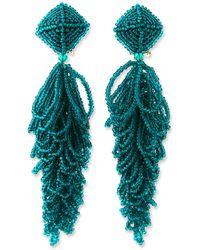 Sachin & Babi Lulu Seed Bead Earrings
