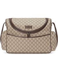 e4e605428 Gucci - Basic GG Supreme Canvas Diaper Bag - Lyst
