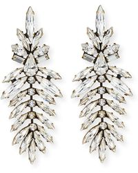 Auden | Emerson Marquis Crystal Drop Earrings | Lyst