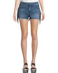 3x1 - W2 Mason Denim Shorts With Fringe - Lyst