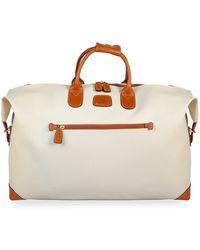 """Bric's - Firenze Cream 22"""" Cargo Duffel Luggage - Lyst"""