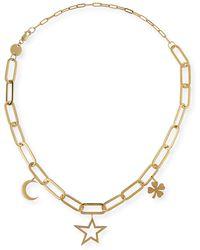 Jennifer Zeuner - Margarita Chunky Chain Charm Necklace - Lyst