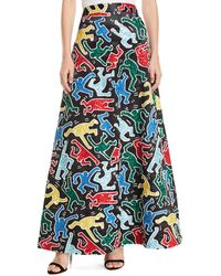 Alice + Olivia - Keith Haring X Ursula Embellished A-line Ball Gown Skirt - Lyst