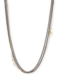 Armenta - Old World Multi-strand Chain Necklace - Lyst