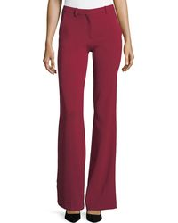 Theory - Demitria 2 Admiral Crepe Flared-leg Pants - Lyst