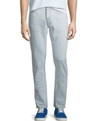 Burberry - Men's 80s Straight-fit Stretch Jeans - Lyst
