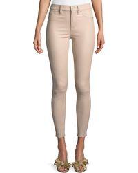 Hudson Jeans - Barbara High-rise Super-skinny Leather Pants - Lyst