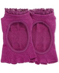 ToeSox - Bella Sangria Grip Half Toe Athletic Socks - Lyst