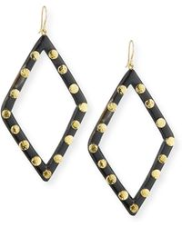 Ashley Pittman - Mila Dark Horn Drop Earrings - Lyst