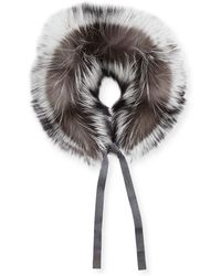 Max Mara - Here Is The Cube Collection Pindaro Detachable Fur Collar - Lyst