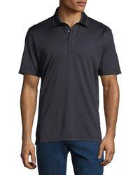 Ermenegildo Zegna - Men's Solid 3-button Polo Shirt - Lyst
