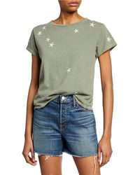 Mother - The Boxy Goodie Goodie Star Tee - Lyst