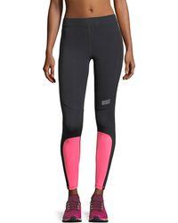 Monreal London - Sprinter Colorblocked Performance Leggings - Lyst