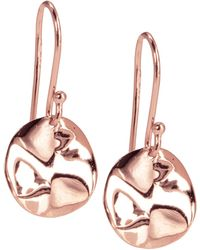 Ippolita - Mini Rose Wavy Disc Earrings - Lyst
