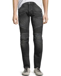 Hudson Jeans - Men's Blinder Distressed Biker Jeans - Lyst