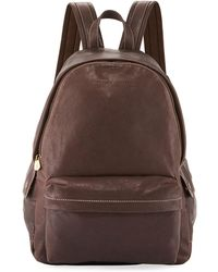Brunello Cucinelli - Men's Leather Backpack - Lyst