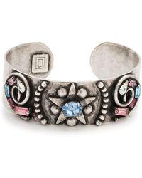 DANNIJO - Renee Crystal Cuff Bracelet - Lyst