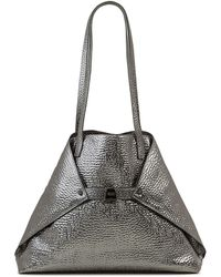 Akris - Ai Medium Hammered Shoulder Bag - Lyst