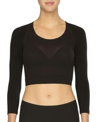 Spanx - Arm Tights Solid Shaper Top - Lyst