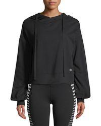 Alo Yoga - Social Long-sleeve Hooded Top - Lyst