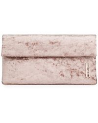 Hayward - East West Crushed Velvet Clutch Bag - Lyst