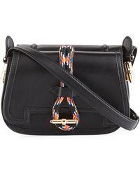 Carven - Leather Rope Saddle Bag - Lyst