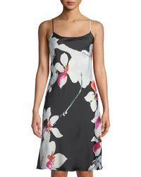Natori - Cattleya Floral-print Nightgown - Lyst