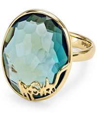 Ippolita - 18k Gold Rock Candy Oval Stone Ring - Lyst