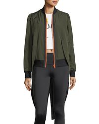 The Upside - Tails Zip-front Bomber Jacket - Lyst
