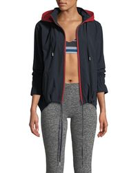 The Upside - Andre Hooded Zip-front Anorak Jacket - Lyst