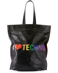 Balenciaga - Men's Supermarket Shopper Tote Bag - Lyst