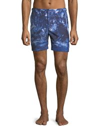 Orlebar Brown - Bulldog Photographic Beach Swim Trunks - Lyst
