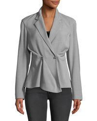 Jason Wu - Notched-collar Double-breasted Wool-blend Jacket - Lyst