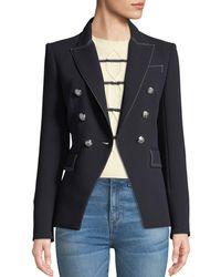 Veronica Beard - Miller Double-breasted Blazer Jacket - Lyst