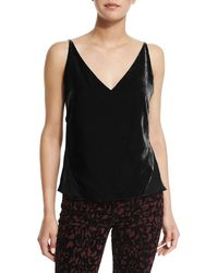 J Brand - Lucy V-neck Camisole - Lyst