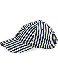 08d6c9541cc Lyst - Rag   Bone Marilyn Baseball Cap in Blue for Men