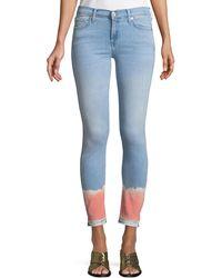 f23196c47a Lyst - CJ by Cookie Johnson Wisdom Ombre Tie Dye Ankle Skinny in ...