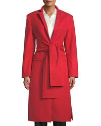 Maggie Marilyn - Trust Your Instincts Wool-cashmere Long Coat - Lyst