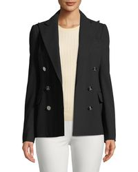 Ralph Lauren Collection - Camden Double-breasted Stretch-wool Jacket - Lyst