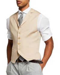 Brunello Cucinelli - Men's Single Breasted Gilet Vest - Lyst