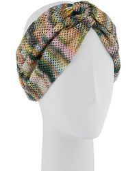 Missoni - Open-knit Knotted Headband - Lyst