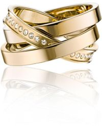 Vita Fede - Cassio Pavé Crystal Ring Set - Lyst