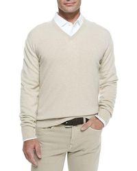 bf97b6e81617 Men s Loro Piana V-neck sweaters