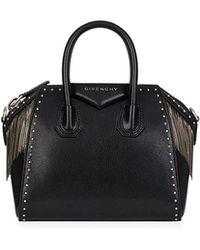 Givenchy - Antigona Chain Fringe Mini Satchel Bag - Lyst