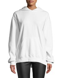 RTA - Austin Oversized Printed Cotton-blend Jersey Hooded Top - Lyst