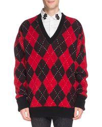 8b362fc895b9e1 Men's Alexander McQueen Sweaters and knitwear - Lyst