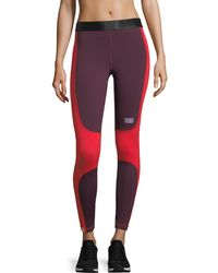 Monreal London - Sprinter Colorblocked Performance Leggings - Lyst
