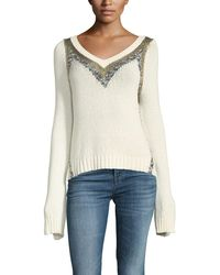 10 Crosby Derek Lam - V-neck Pullover Sweater - Lyst