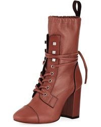 Stuart Weitzman - Veruka Lace-up 70mm Boot - Lyst