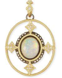 Armenta - Old World Opal Triplet Enhancer Pendant W/ 18k Gold - Lyst
